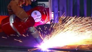 5 - Osiowa Wycinarka Plazmowa z Funkcją Ukosowania / 5 Axis Plasma Bevel Cutting Machine