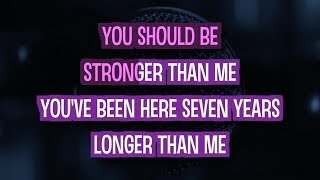 Stronger Than Me | Karaoke Version in the style of Amy Winehouse