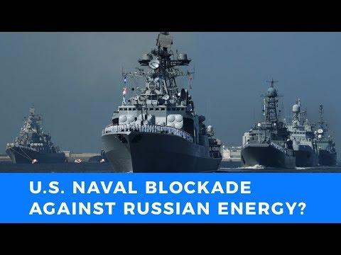 US Secretary of the Interior's idiotic idea for naval blockade against Russian energy supplies
