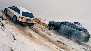 Хваленые Bmw  И Mercedes В Оффроад Против Audi Allroad И Audi Q7
