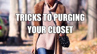 HOW TO PURGE YOUR CLOSET | MY HUGE COAT CLEAR OUT!!