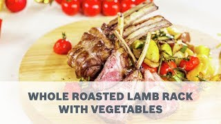 Roasted Rack of Lamb Recipe - Cooking with Bosch