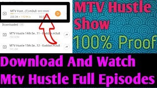Download #MTV Hustle Show Full Episodes  in one click