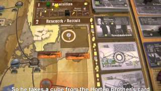 Secret Weapons of the Third Reich - Example of Play - Turn 2 (1939)