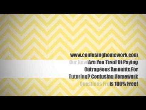Best Online Homework Help. Free High Quality Affordable Online Tutoring