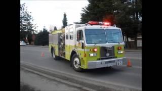 radio audio surrey bc 3rd alarm apartment structure fire