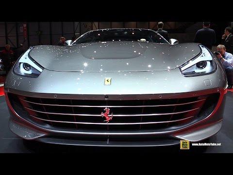 2017 Ferrari GTC4 Lusso - Exterior and Interior Walkaround - Debut at 2016 Geneva Motor Show