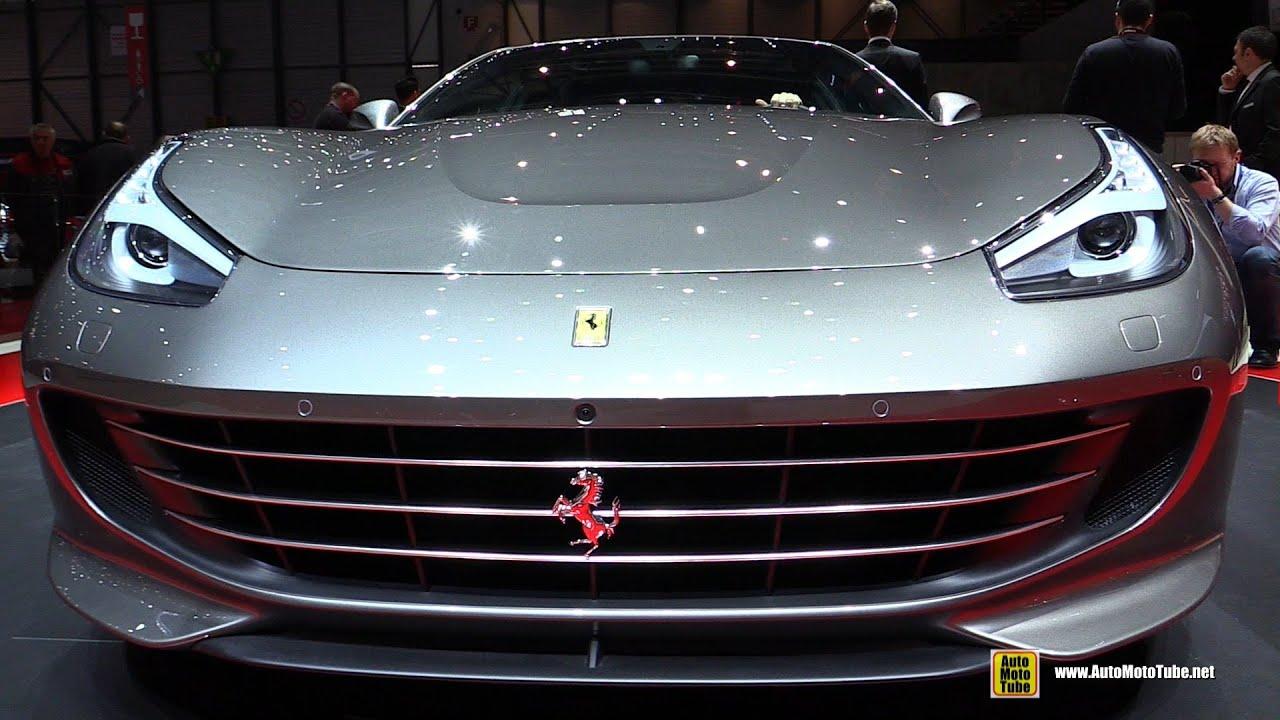2017 Ferrari Gtc4 Lusso Exterior And Interior Walkaround Debut At 2016 Geneva Motor Show