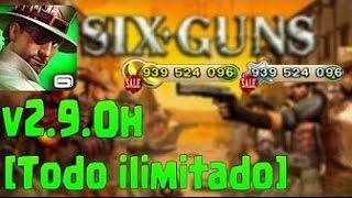 Descargar Six-Guns: Duelo de BANDAS HACK v2.9.0h [Todo ilimitado]APK MOD