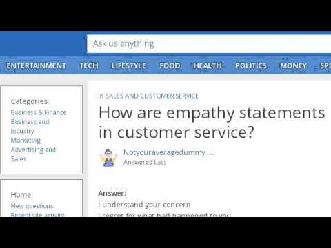 How-To Use Empathy In Customer Service - YouTube
