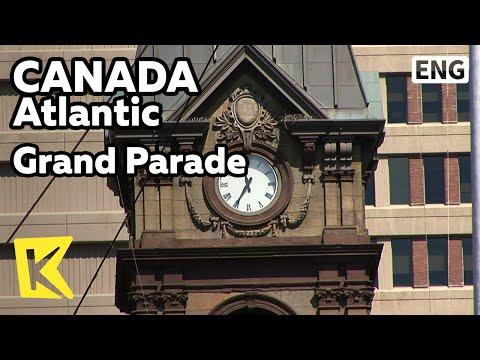 【K】Canada Travel-Atlantic[캐나다 여행-애틀랜틱] 그랜드 퍼레이드 광장, 시계탑/Grand Parade/Square/Clock Tower/City Hall