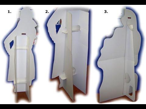 How To Cardboard Cutout Diy Dr Noob S Lab