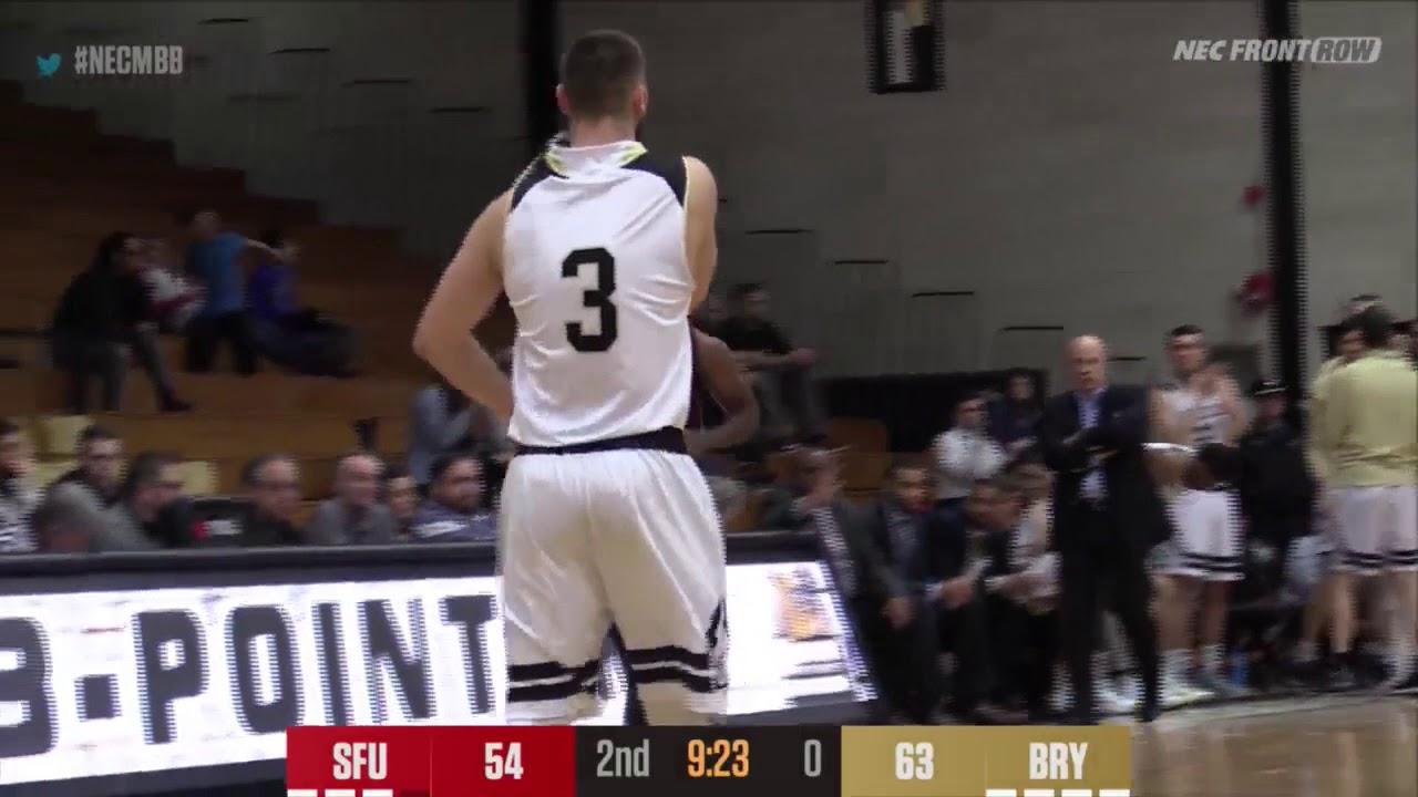 save off 69737 1a354 Men's Basketball Highlights: Bryant vs. Saint Francis U 12 ...