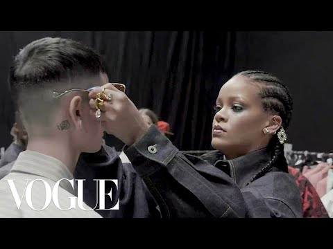 Inside Rihanna&39;s First Fenty Collection  Vogue