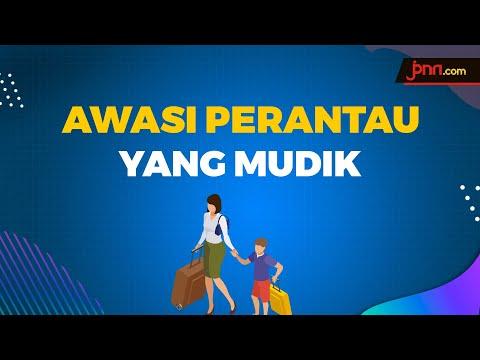 Jokowi Tekan Kepala Daerah Awasi Warganya Yang Mudik