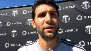 Portland Timbers midfielder Diego Valeri: 'At home we will try to dominate the game'