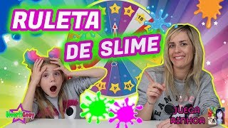 RULETA DE SLIME| Qué Slime me tocará hacer? SLIME ROULETTE| Con Juega Ainhoa- DIVERTIGUAY