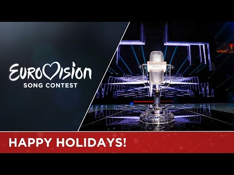 The Eurovision stars wish you a Merry Christmas!