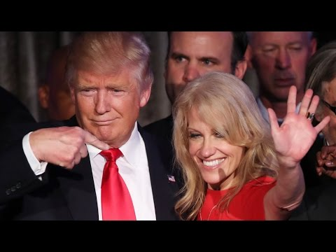 Trump picks Conway as counselor to the president