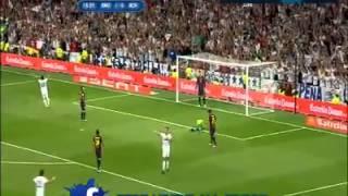 Real Madrid vs Barcelona 2-1 C.Ronaldo Goal issam chaouali
