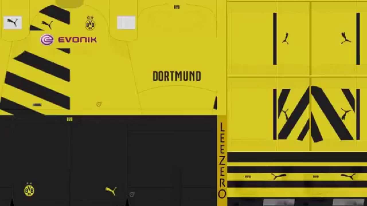 buy online 9b984 d6b7c Borussia Dortmund Kits 2014/15 +DOWNLOAD LINK