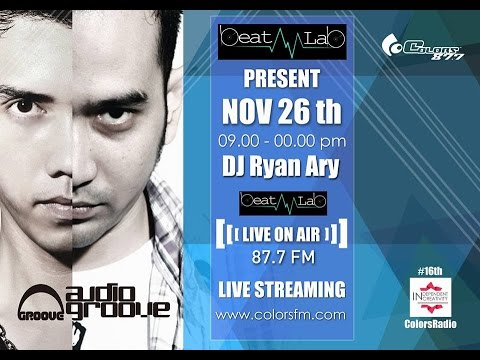 AUDIOGROOVE live on Colors Radio BeatLab (Video Streaming)