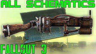 Fallout 3: All Schematics Guide (Vanilla)