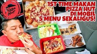 UDAH LAMA GA MAKAN PIZZA HUT! MUKBANG 5 MENU PIZZA HUT