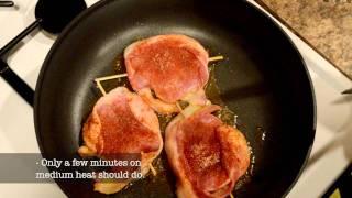 Best Bacon-wrapped Pork W/ Pear Glaze Recipe
