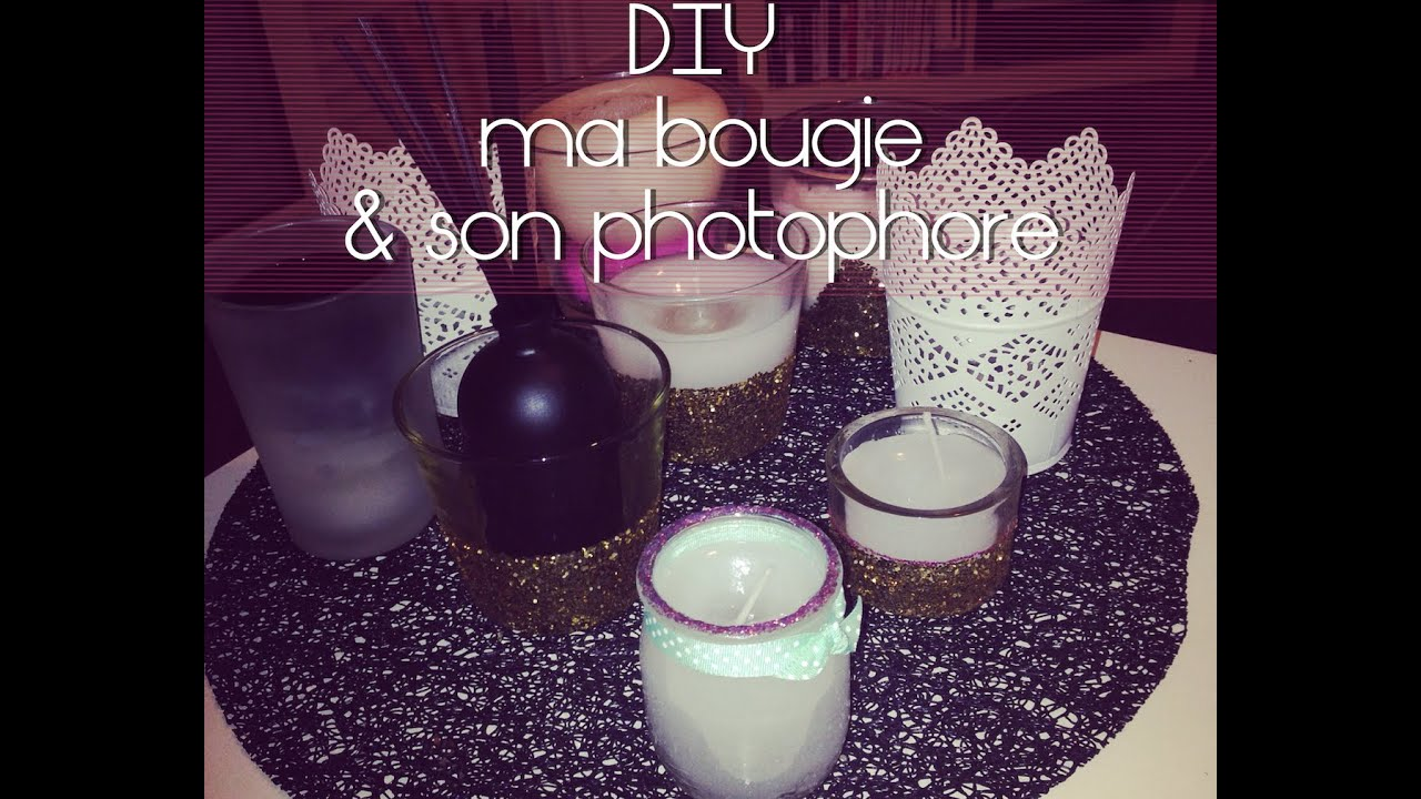 diy 3 fabrication de bougie de son photophore sois m me youtube. Black Bedroom Furniture Sets. Home Design Ideas