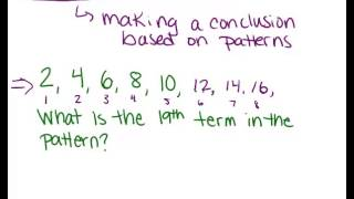 Inductive Reasoning: Lesson (Geometry Concepts)