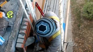 Brick repair soldier course