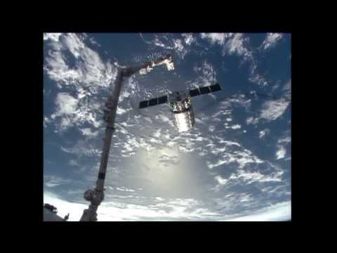 Orbital Sciences Cygnus Cargo Spacecraft Completes ISS COTS Mission - 720p HD