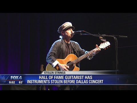 Guitars stolen from Rock & Roll Hall of Fame guitarist before Dallas show