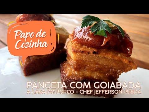 PANCETA COM GOIABADA DA CASA DO PORCO