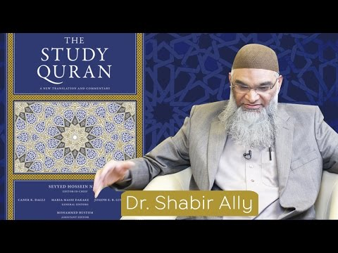 Book Review: The Study Quran | Dr  Shabir Ally - YouTube