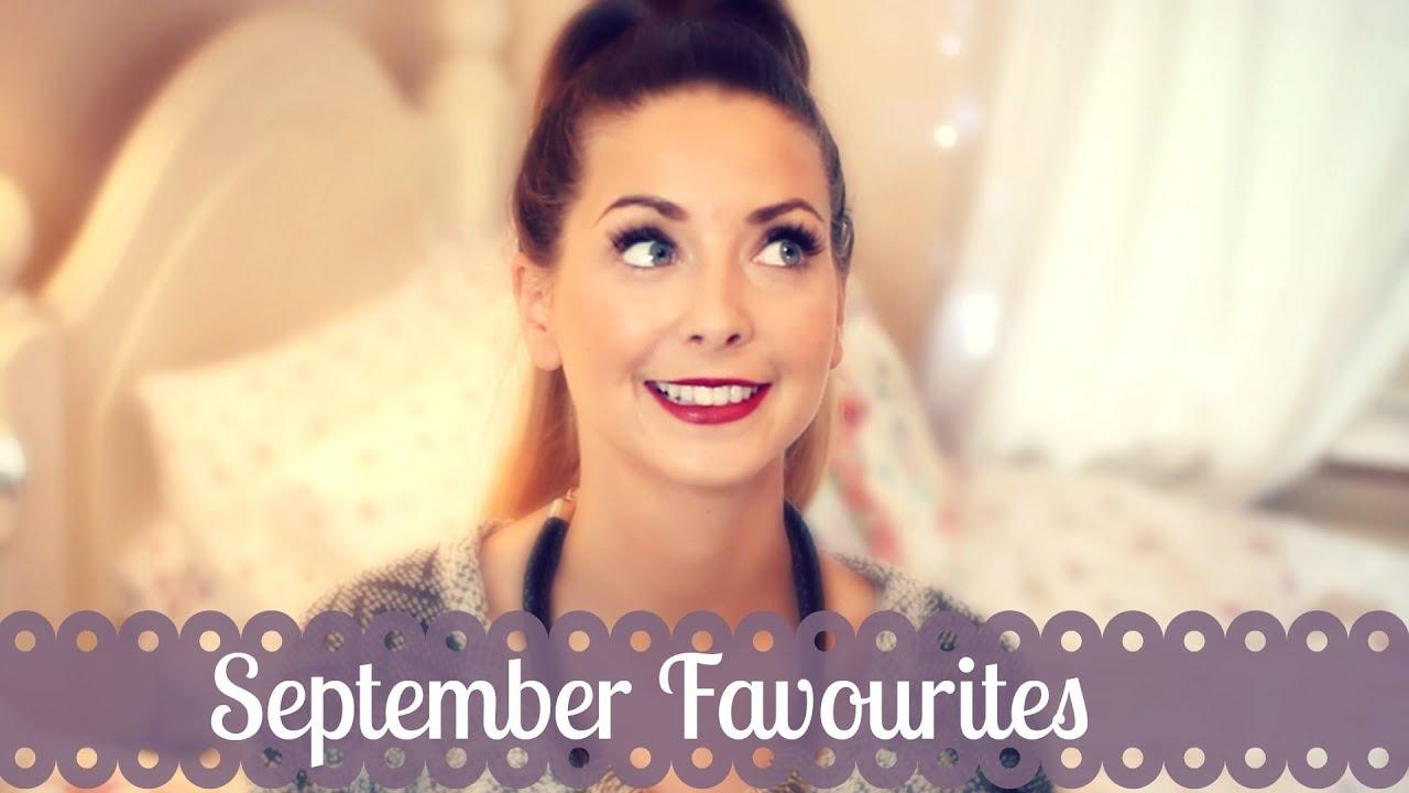 September Favourites | Zoella - YouTube