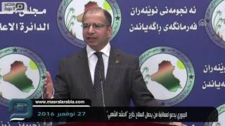 مصر العربية | الجبوري يدعو لمعاقبة من يحمل السلاح خارج