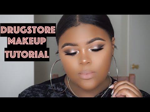 Affordable/Drugstore Makeup Tutorial   MakayaTroix