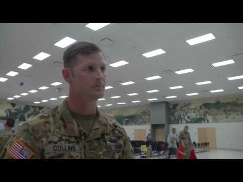 Oklahoma Army National Guard air traffic controllers return from the Middle East