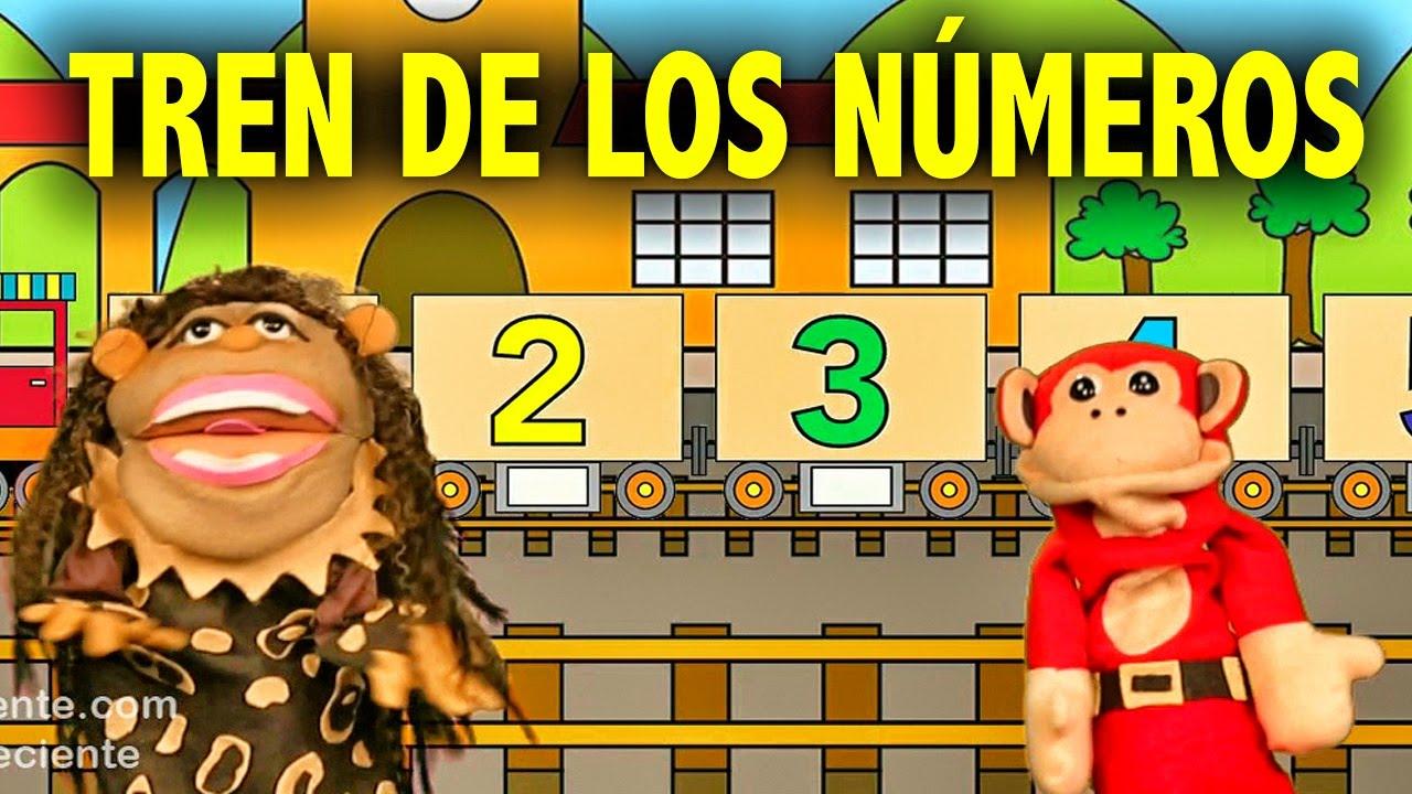 La Canción de los Numeros del 1 al 10 | El Mono Silabo y Nicola Cavernicola | Lunacreciente