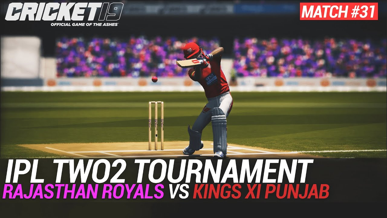 CRICKET 19 - IPL2020 TWO2 - MATCH #31 - RAJASTHAN ROYALS vs KINGS XI PUNJAB