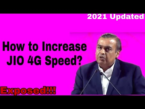 Thumbnail: how to increase jio 4g speed don't be fool...