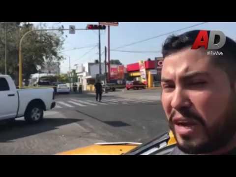 Persecucion y tiroteo en la avenida san Fernando en Colima #Urgente