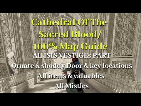 code-vein/cathedral-of-the-sacred-blood-100%-map-guide/cathedral-perimeter/ladders/ornate-key
