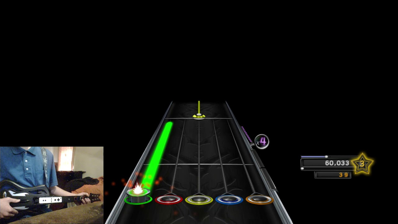Clone Hero - Through the Fire and The Flames [Easy]