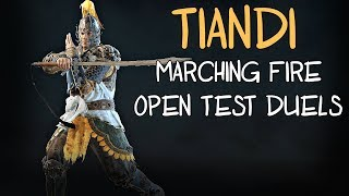 [For Honor] Tiandi Duels | Marching Fire Open Test