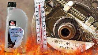 Millers Oils CRX 75W90 NT Jak skutecznie olej przekładniowy chroni skrzynie? 100°C
