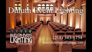 Duluth Event Lighting: wedding lighting, up lighting, bridal lighting best of 2