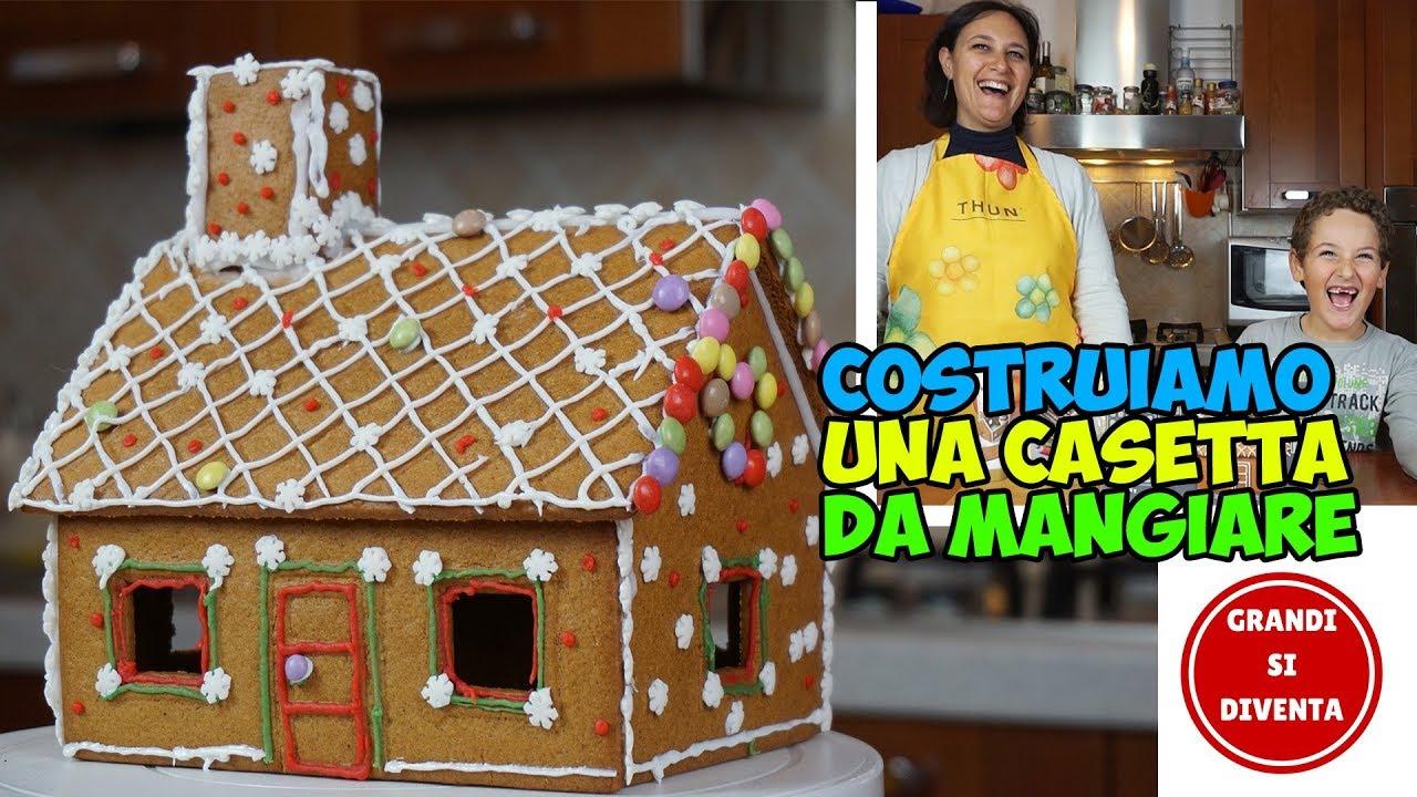 Casetta Di Natale Ikea : Facciamo una casetta da mangiare di pan di zenzero youtube